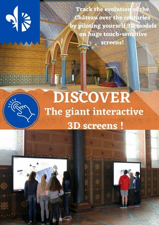 The interactive 3d screens