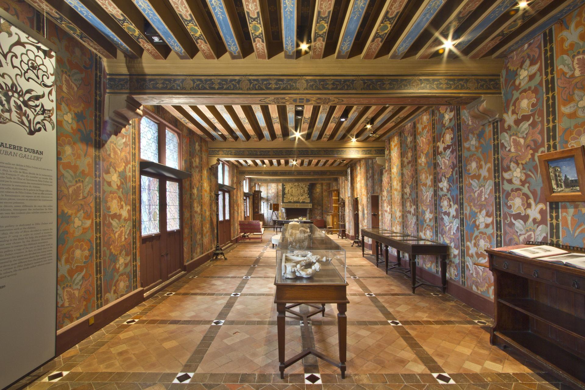 the royal apartments site ch teau de blois anglais. Black Bedroom Furniture Sets. Home Design Ideas