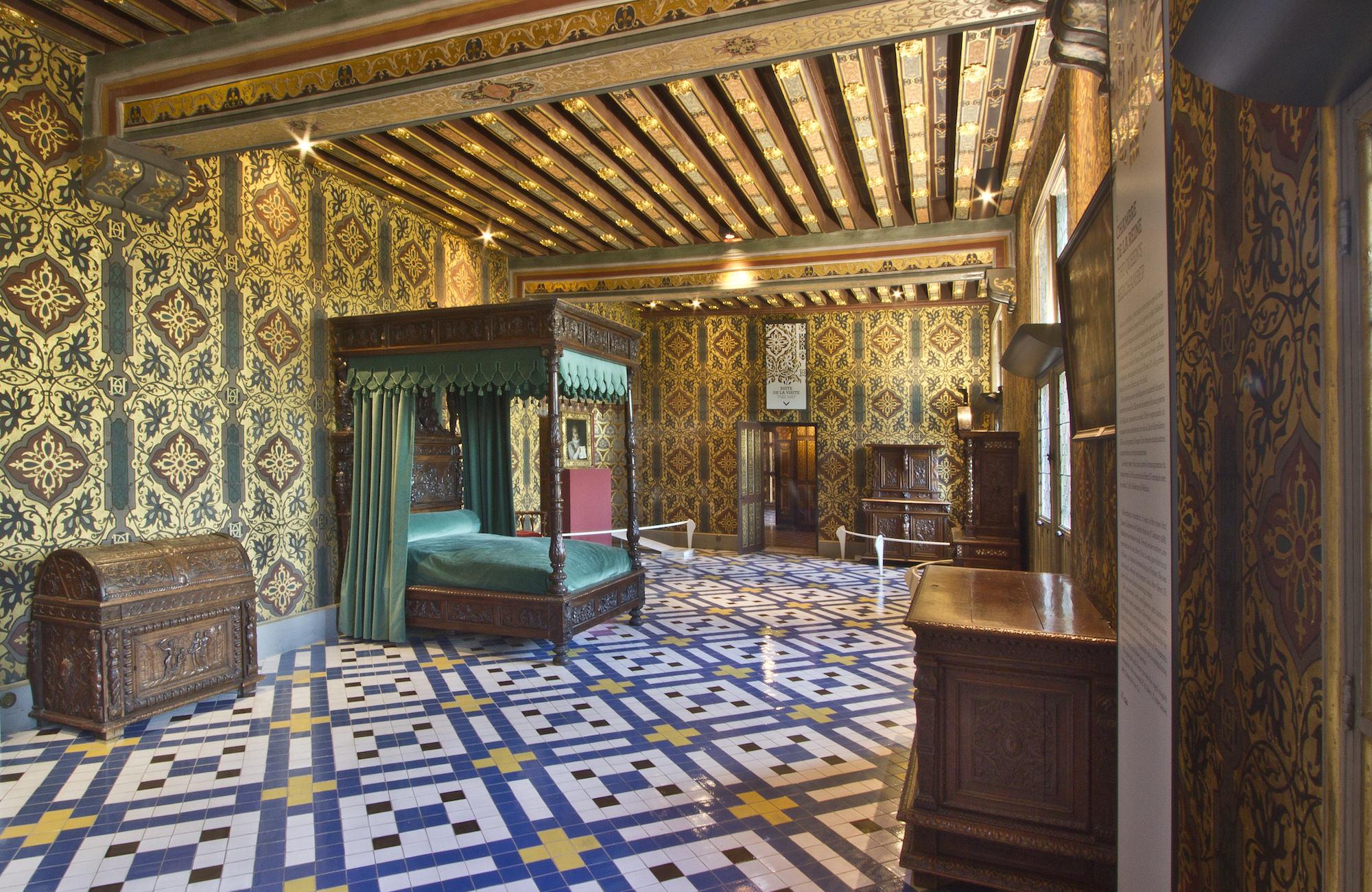 The Royal Apartments Site Ch 226 Teau De Blois Anglais