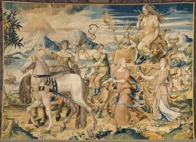 Purchase of a tapestry: The triumph of Envy, mother of war
