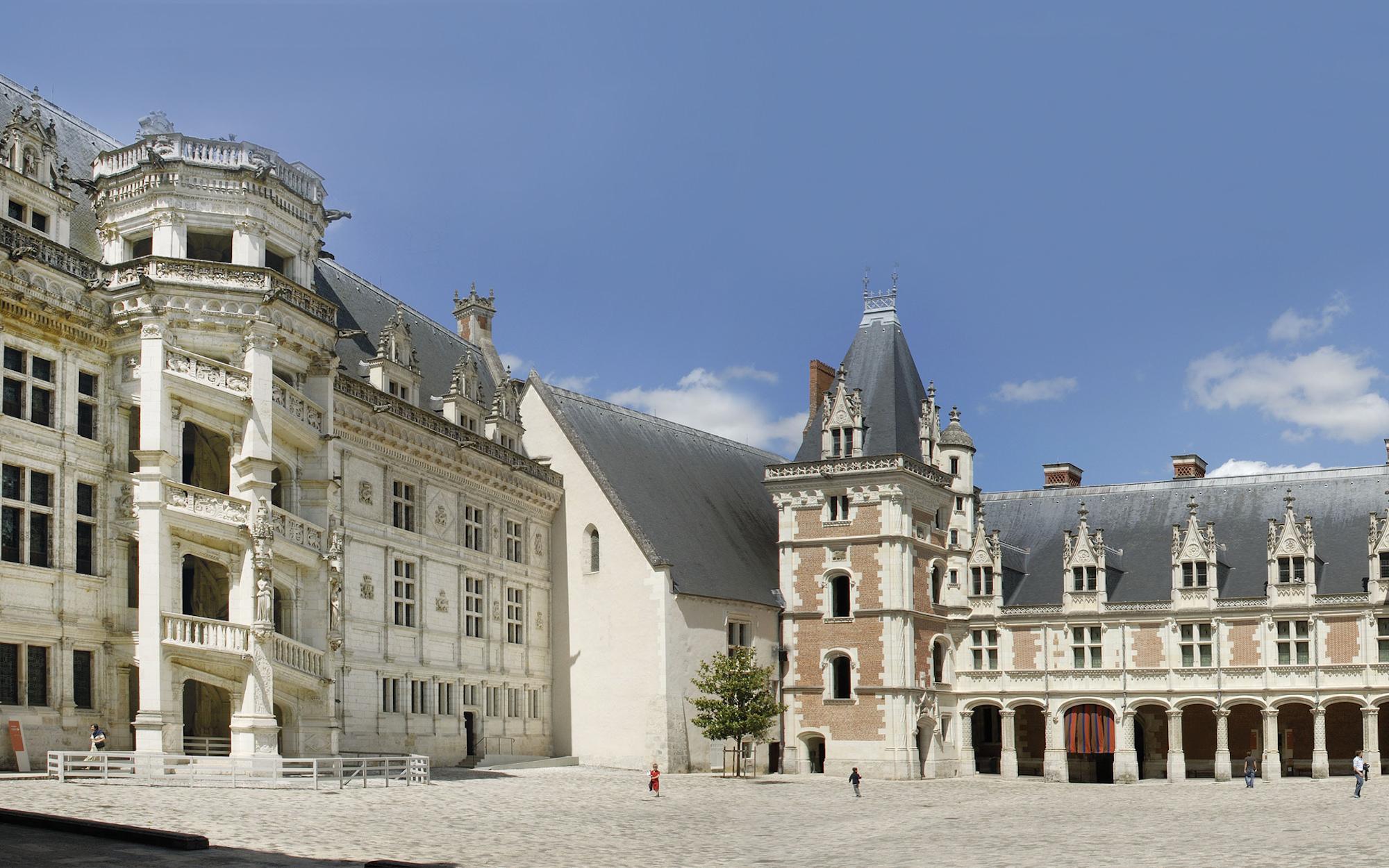 the visit itinerary site ch 226 teau de blois anglais