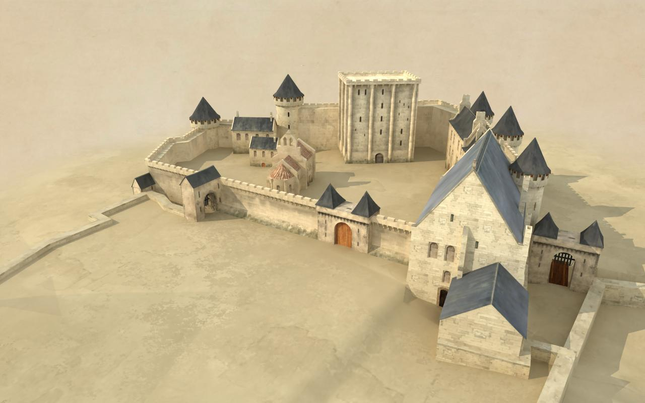 Four Architectural Styles Site Ch 226 Teau De Blois Anglais