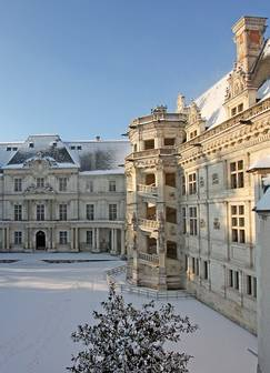 Christmas in the royal château of Blois