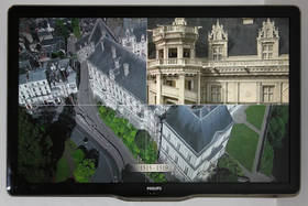 video of architectural evolution of the château of Blois